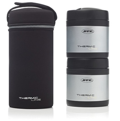 Jane Stainless steel Thermal Food Flask, 2x500cc
