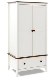Silver Cross Porterhouse Wardrobe (1 Drawer)