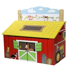 Teamson Happy Farm Toy Box