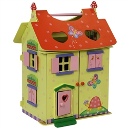 Teamson Magic Garden Dolls House and Furniture