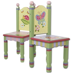 Teamson Magic Garden 2 Chair Set