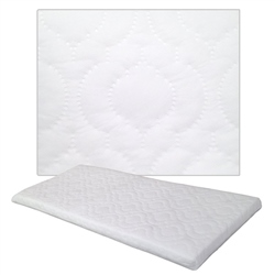 Johnston's Crib Quilted Foam Safety Mattress