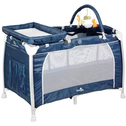 BabyLo 3 in 1 Siesta Travel Cot