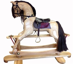 Johnston's Handmade Wooden Rocking Horse
