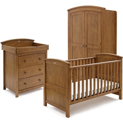 Silver Cross Ashby Natural 3 Piece Room Set