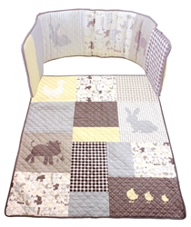 BabyStyle Puddle Duck Bedding Set