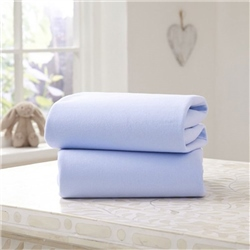 Clair De Lune 2 Cotton Jersey Interlock Printed Sheets for Moses Basket