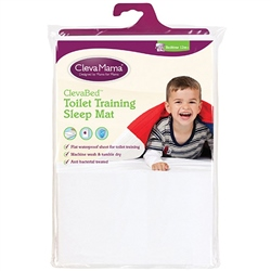ClevaMama ClevaBed Brushed Cotton Toilet Training Sleep Mat
