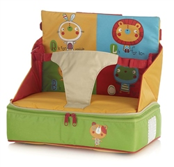Jane Bag-high chair with compartments plastic coated