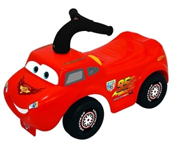 Disney Cars McQueen Light & Sound Ride on
