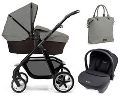 Silver Cross Pioneer Special Edition + Simplicity Car Seat, Eton Grey