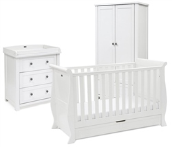 Silver Cross Nostalgia 3 Piece Room set with Sleigh Cot Bed