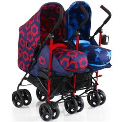 Cosatto To & Fro Duo Twin Stroller