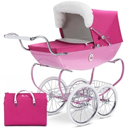 Silver Cross Special Edition Raspberry Cupcake Dolls Pram