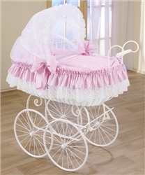 Leipold Nostalgic Royal Pram Crib, Candy