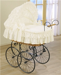 Leipold Nostalgic Royal Pram Crib, Damaris