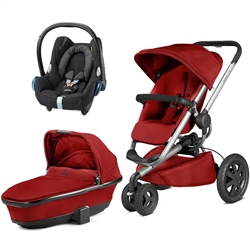 Quinny Buzz Xtra + Foldable Carrycot + Cabriofix