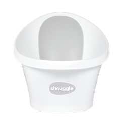Baby Bath With Plug & Foam Backrest by Shnuggle
