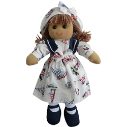 Powell Craft Medium Nautical Rag Doll