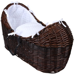 Clair De Lune Noah Pod Marshmallow Dark Wicker