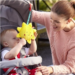 East Coast Say Hello Sun Stroller Toy