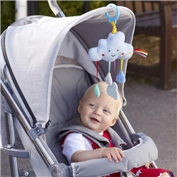 East Coast Say Hello Cloud Stroller Toy