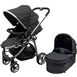 BabyLo Vector Pushchair + Carrycot