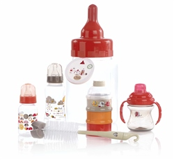 Jane Feeding Bottle Gift Set & Piggy Bank