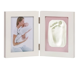 Jane Photo Frame with 2 segments (Photo and Clay Print)