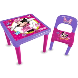 Disney Minnie Mouse Activity Table
