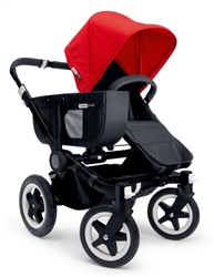 Bugaboo Donkey Mono Black Chassis + Tailored Set