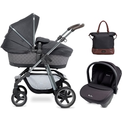 Silver Cross Pioneer 3in1 Special Edition Henley + Simplicity Car Seat