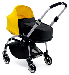 Bugaboo Bee3 Pushchair + Carrycot, Aluminium