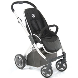 Oyster Oyster Pushchair Smooth Black