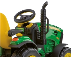 Peg Perego John Deere Ground Force with trailer 12 Volt