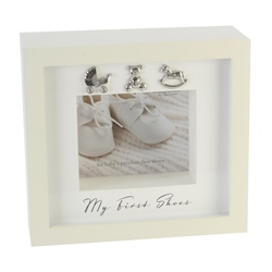 Bambino 'My First Shoes' Keepsake Display Box