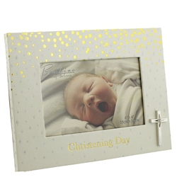 "Bambino Christening Photo Frame ""Christening Day"" 6"" x 4"""