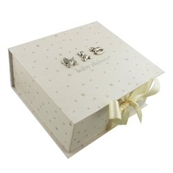 Bambino Square Keepsake Box Baby Shower