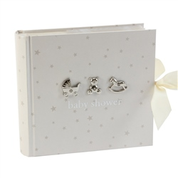 "Bambino Photo Album 4"" x 6"" Baby Shower"