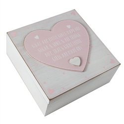 Bambino 'Petit Cheri' Keepsake Box - 'What Little Girls Are Made Of'
