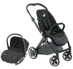 Oyster Oyster Travel System Smooth Black