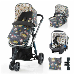 Cosatto Giggle 2 Travel System & Accessories Bundle
