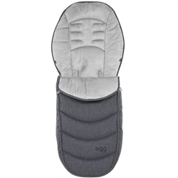 egg Footmuff Quantum Grey Special Edition
