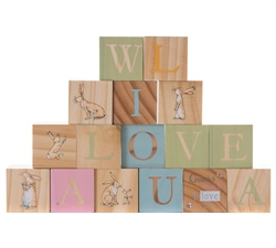 Wooden Picture Blocks by Guess How Much I Love You