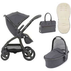 egg Stroller Quantum Grey Special Edition Package + Carrycot