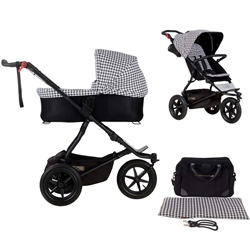 Mountain Buggy Urban Jungle + Carrycot Plus, Pepita