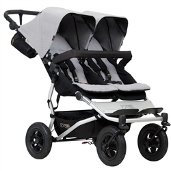 Mountain Buggy Duet v3 (Option: Silver)