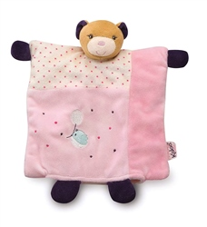 Kaloo Petit Rose DouDou Pretty Bear Puppet