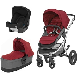 Britax Affinity + Carrycot + Baby-Safe Car Seat