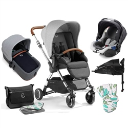 Jane Minnum + Micro + Koos i-Size + Isofix Base, Special Edition Cactus